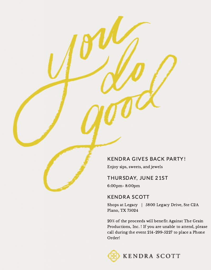 Kendra Scott Gives Back Benefiting ATG @ Kendra Scott at Shops at Legacy | Plano | Texas | United States